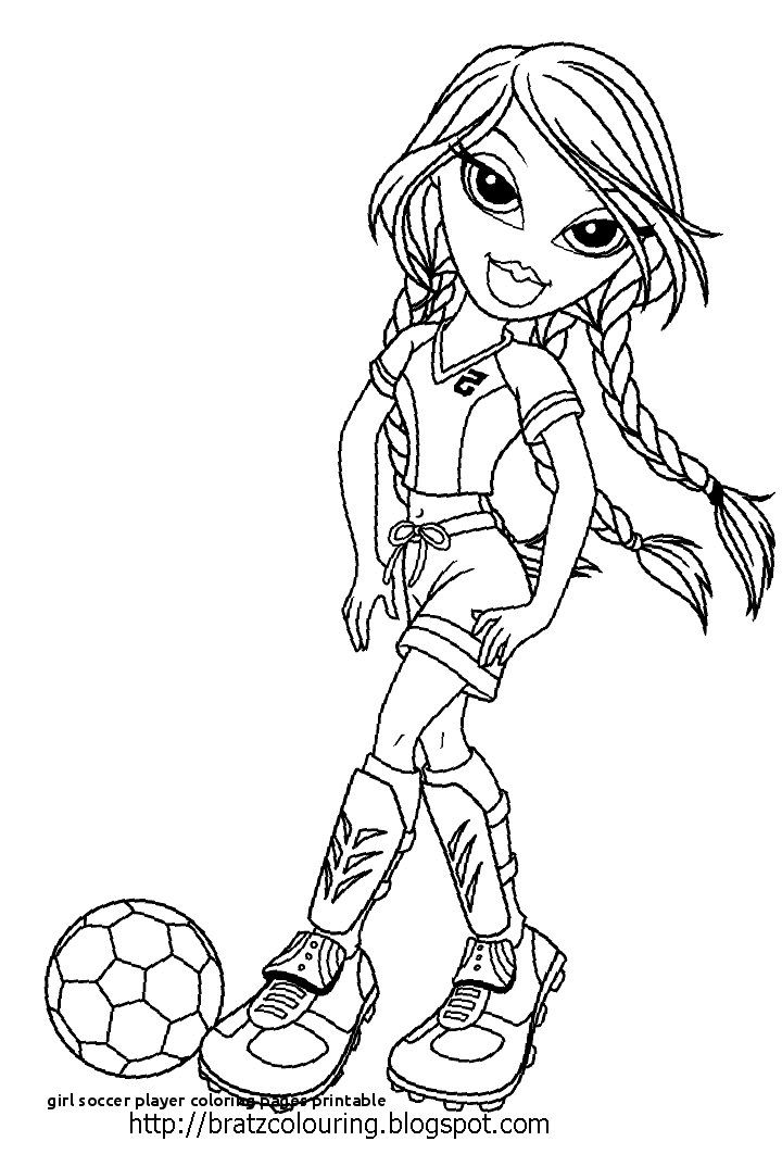 Kids Playing Soccer Coloring Pages