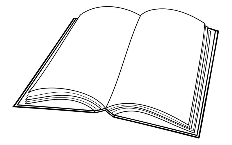 Library Books Coloring Pages