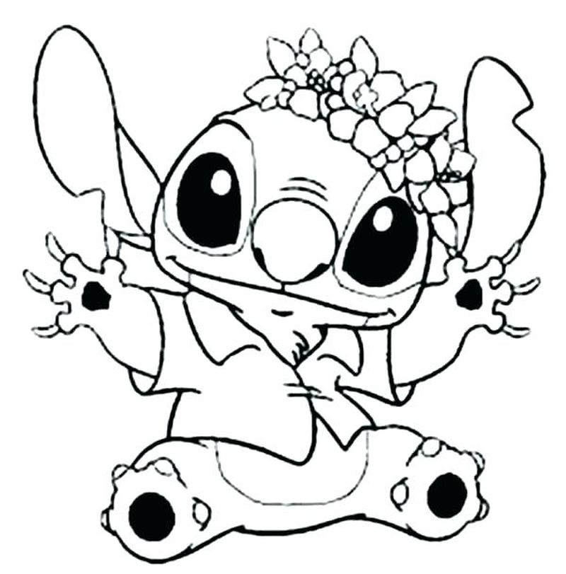 Lilo And Stitch Coloring Pages Free