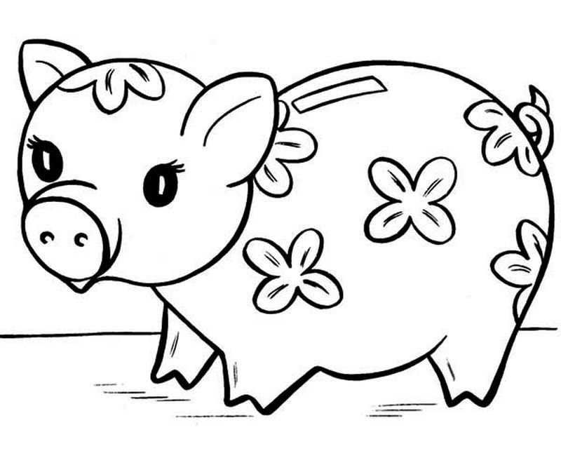Little Pig Coloring Pages