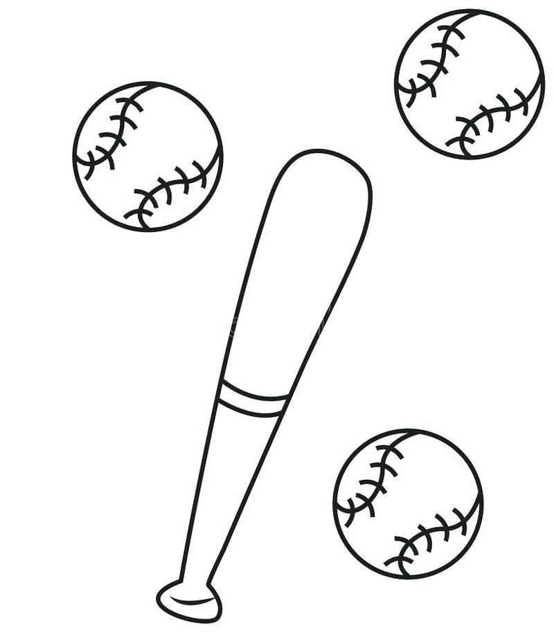 Major League Baseball Player Coloring Pages