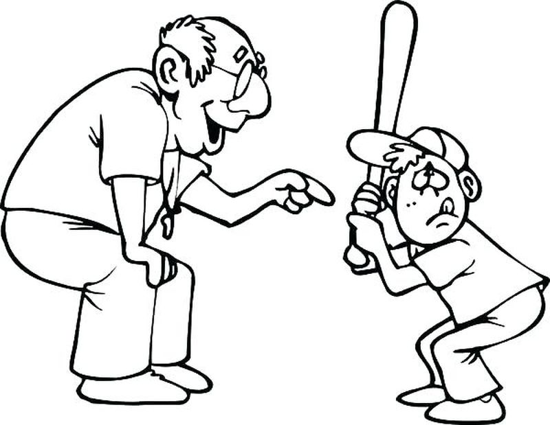 Mlb Baseball Coloring Pages For Kids