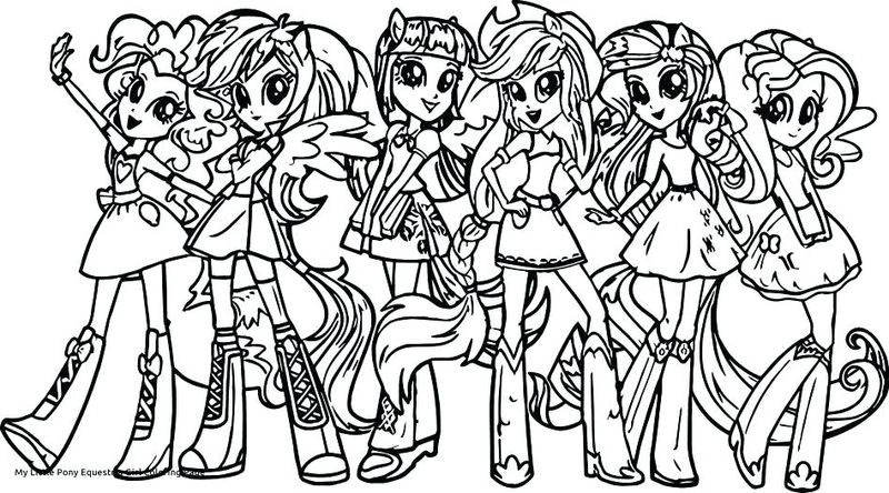My Little Pony Equestria Girls Raspberry Delight Coloring Pages Pdf Free