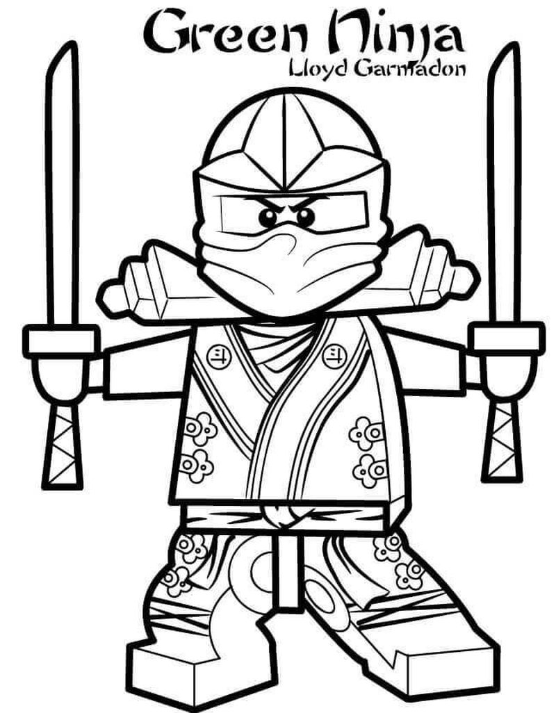 Ninja Coloring Pages To Print
