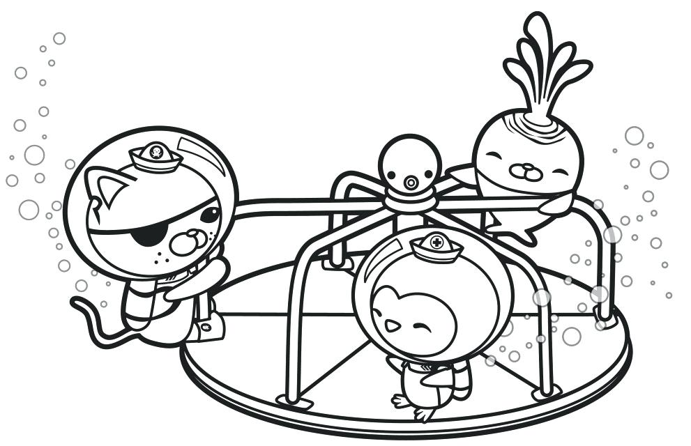 Octonauts Captain Barnacles Coloring Pages pdf
