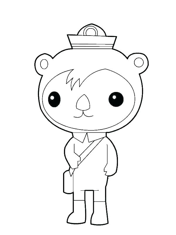 Octonauts Coloring Pages All Creatures Free