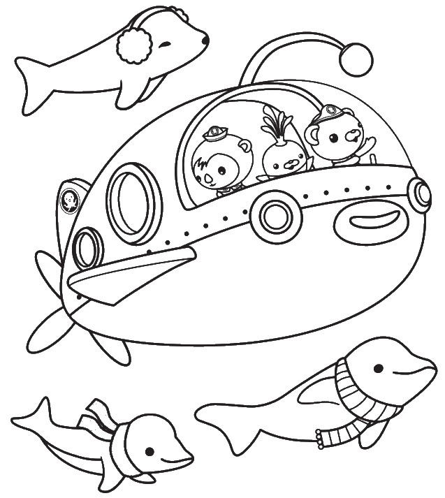 Octonauts Coloring Pages Large