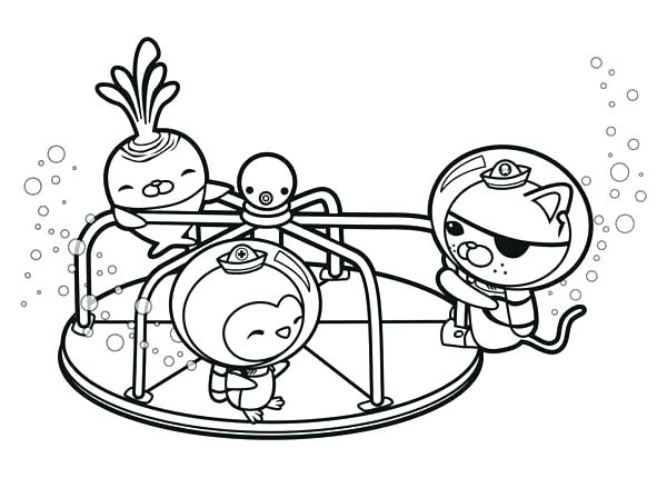 Octonauts Dashi Coloring Pages