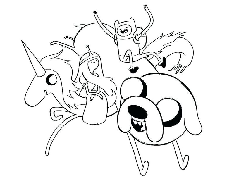Pdf Adventure Time Colouring Pictures To Print