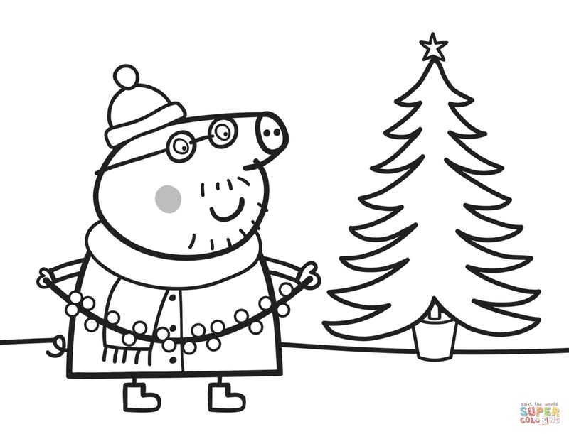 Peppa Pig Coloring Pages Peppa Coloring Book