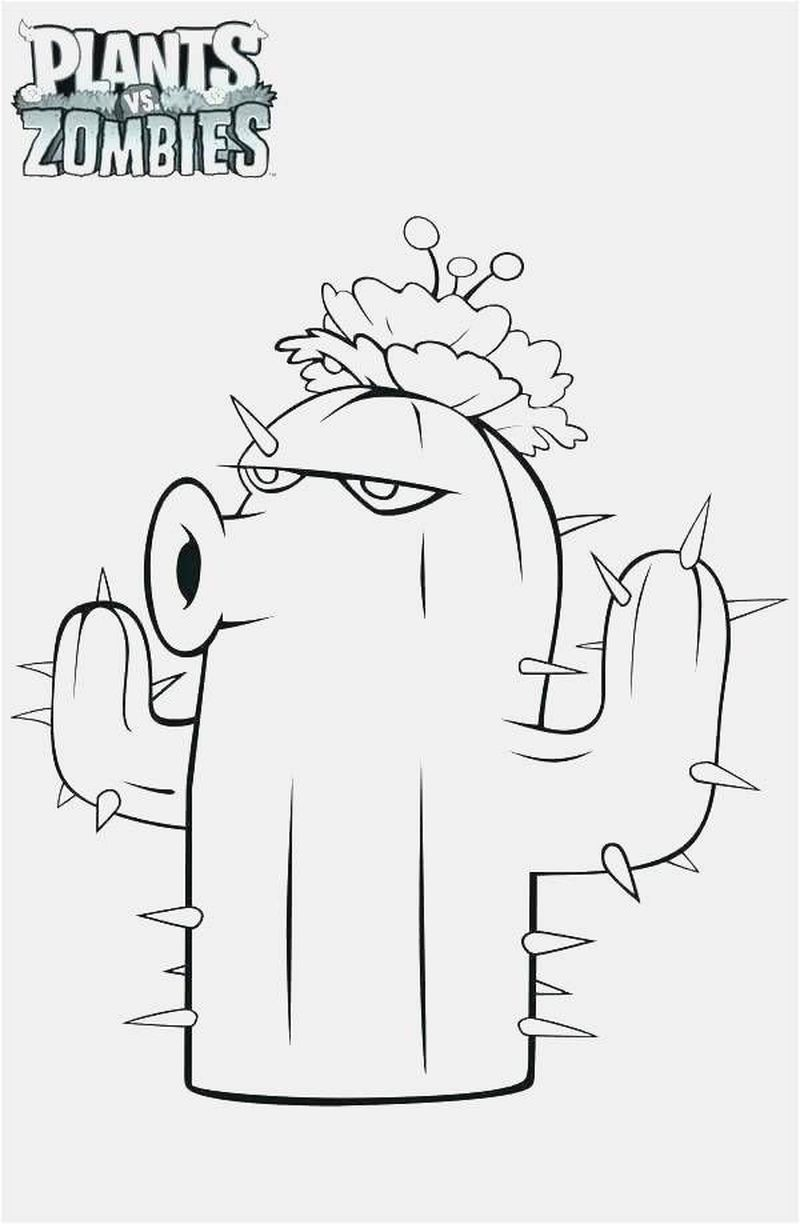 Plants Vs Zombies Coloring Pages All Plants free