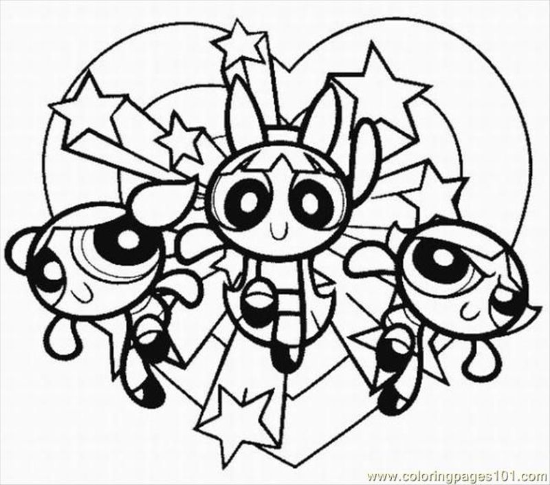 Powerpuff Girls Coloring Pages Games Free