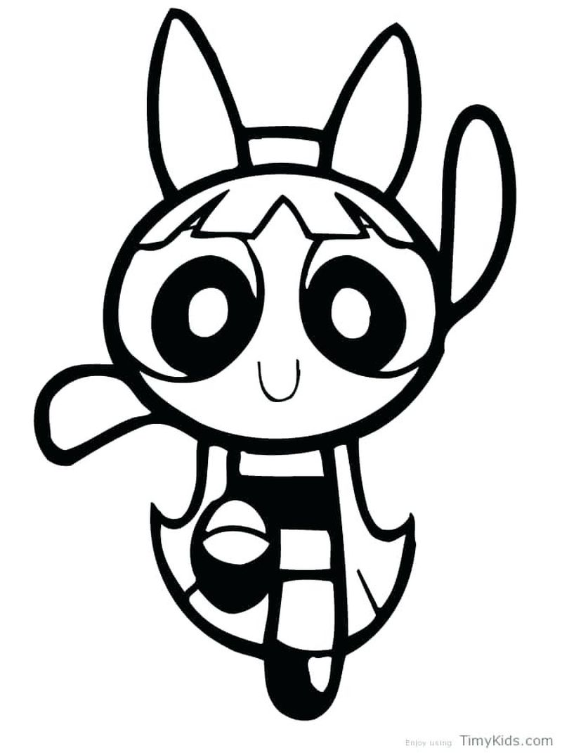 Powerpuff Girls Z Coloring Pages