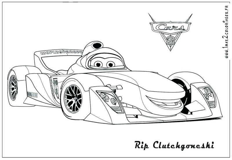 Print Cars 3 Coloring Pages free