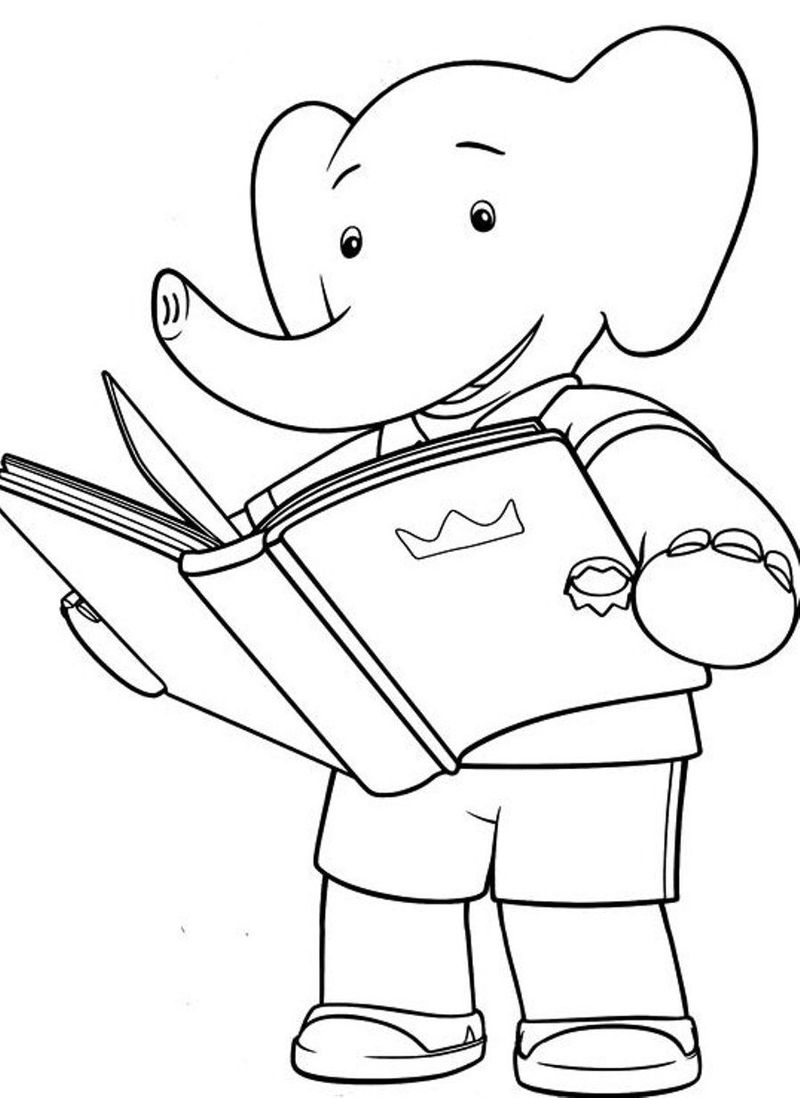Printable Coloring Pages Of Books printable