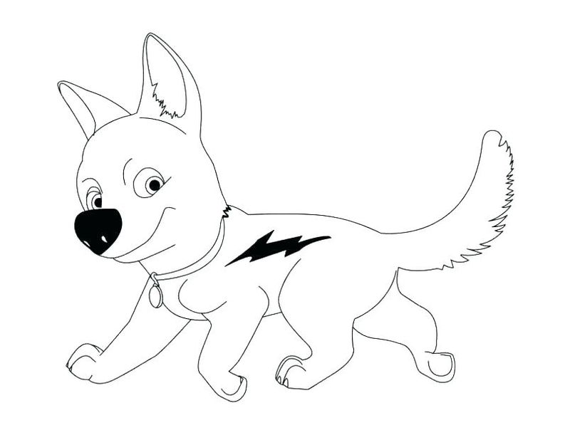 Printable Dog Coloring Pages Free