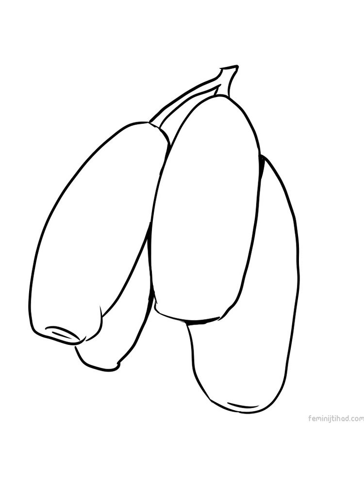 Printable honeyberry coloring images print