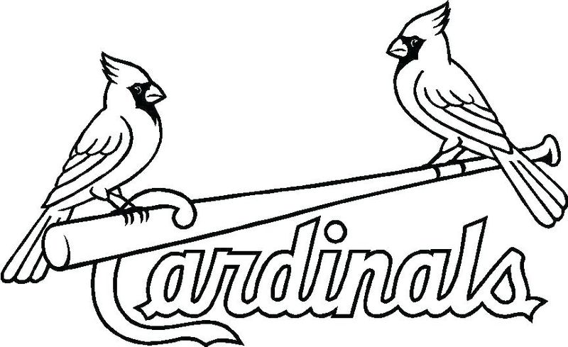 Professional Baseball Coloring Pages
