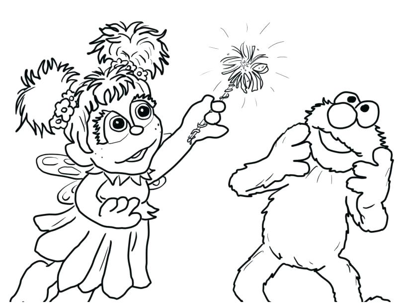 Sesame Street Coloring Pages Download