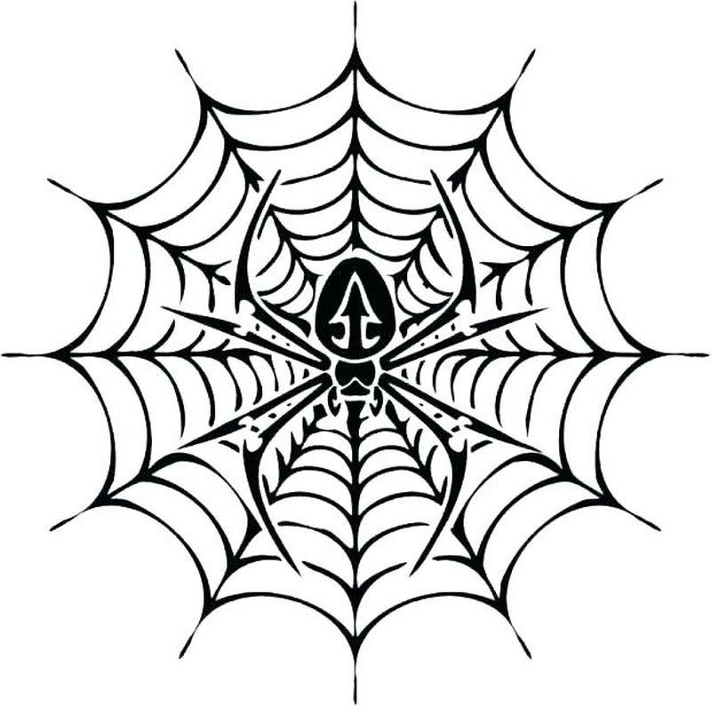 Spider Coloring Pages Printable