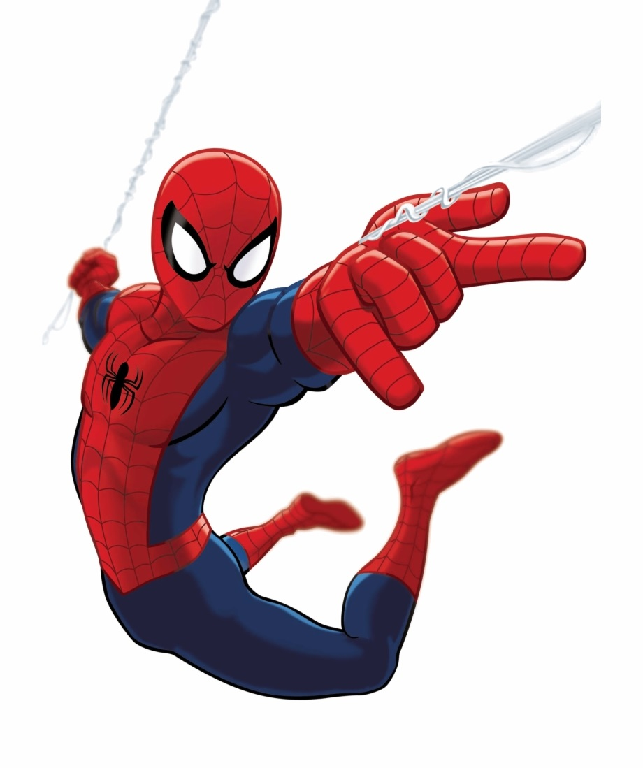 Spider Man Blank Coloring Pages