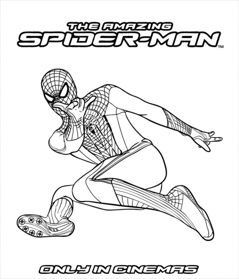 Spiderman And Vulture Coloring Pages