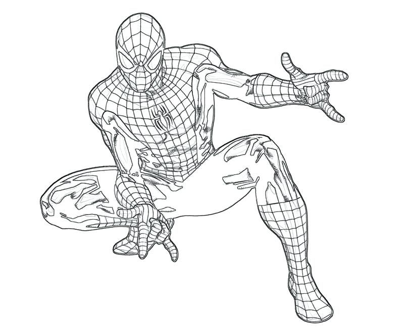 Spiderman Coloring Pages For Adults