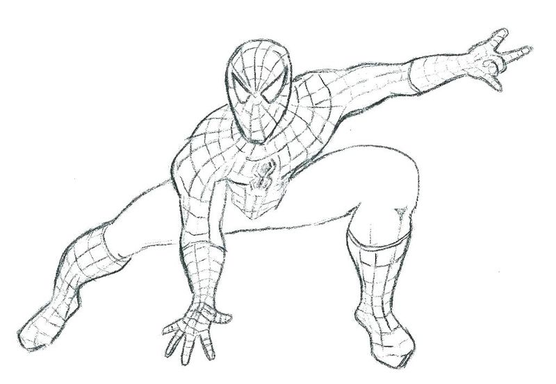 Spiderman Coloring Pages For Child