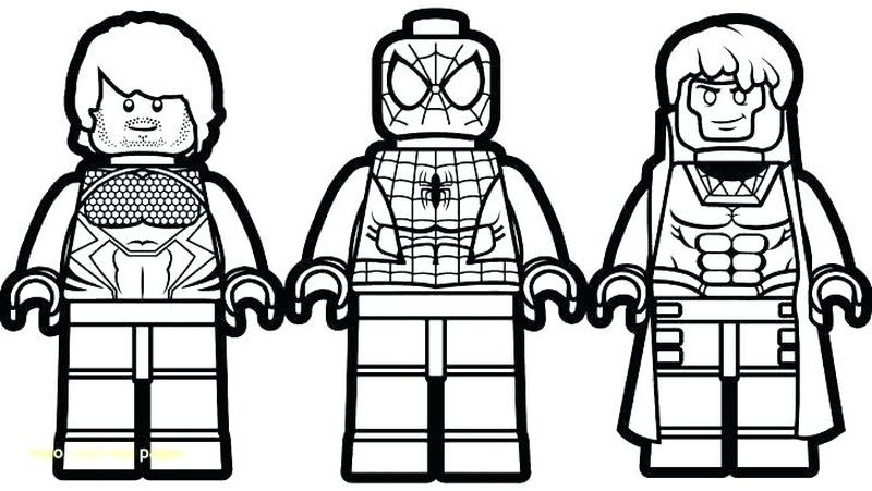 Spiderman Coloring Pages For Toddlers