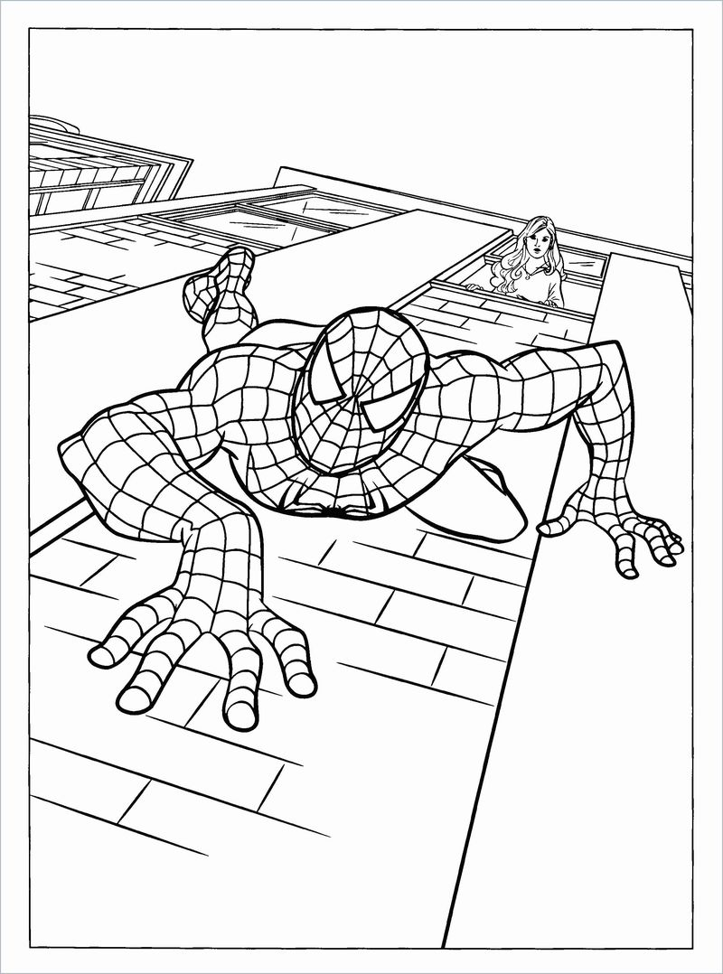 Spiderman Coloring Pages Ps4