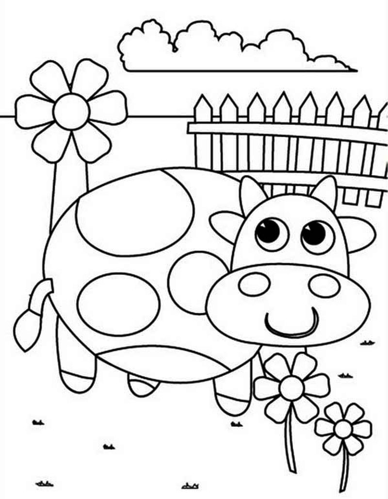 Spring Coloring Pages For Elementary Students