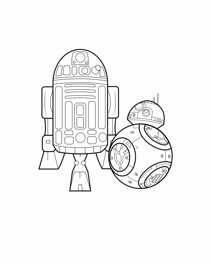 Star Wars Force Awakens Coloring Pages free