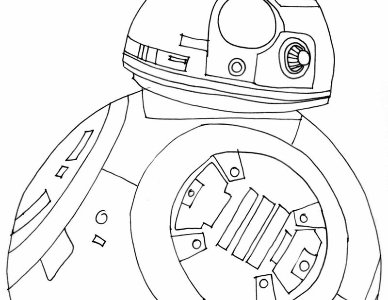 Star Wars Picture To Color free