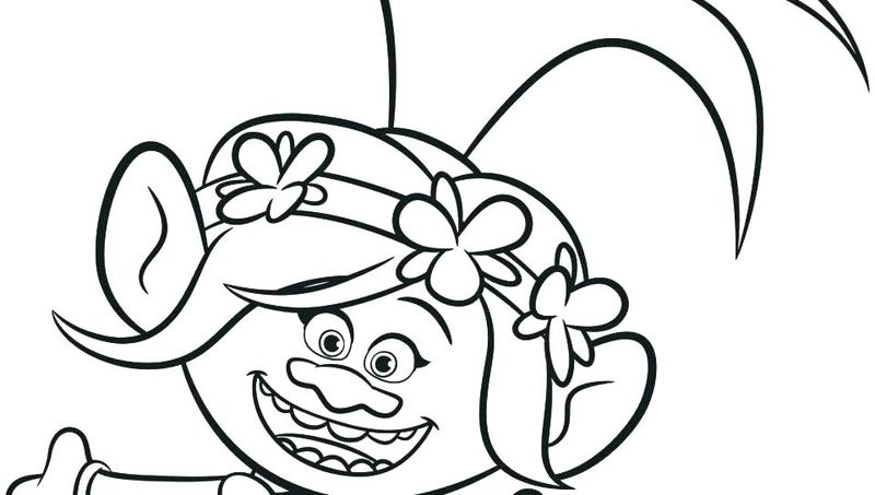 Trolls Coloring Pages Guy Diamond