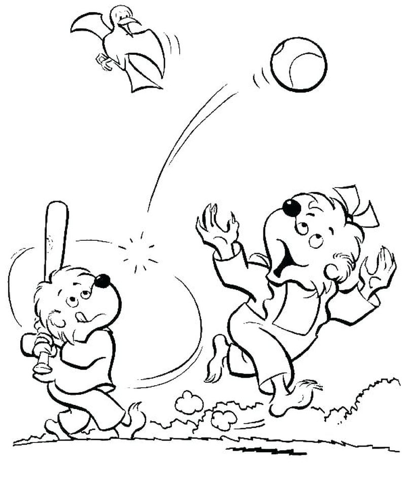 Twins Baseball Coloring Pages Free