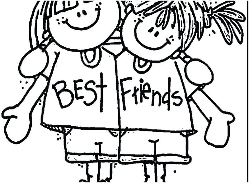 Your My Best Friend Coloring Pages pdf