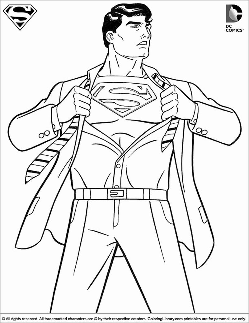 all justice league coloring pages