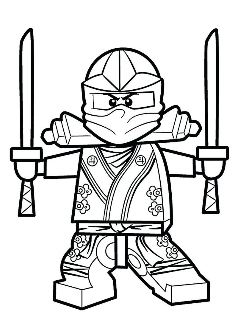 all ninja coloring pages
