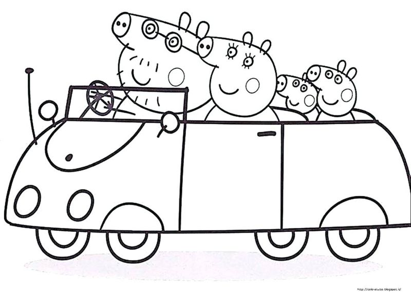 alpha pig coloring pages
