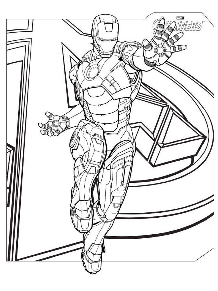 avengers coloring pages endgame free