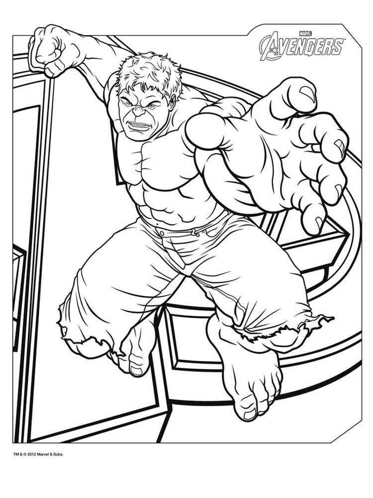 avengers coloring pages free pdf
