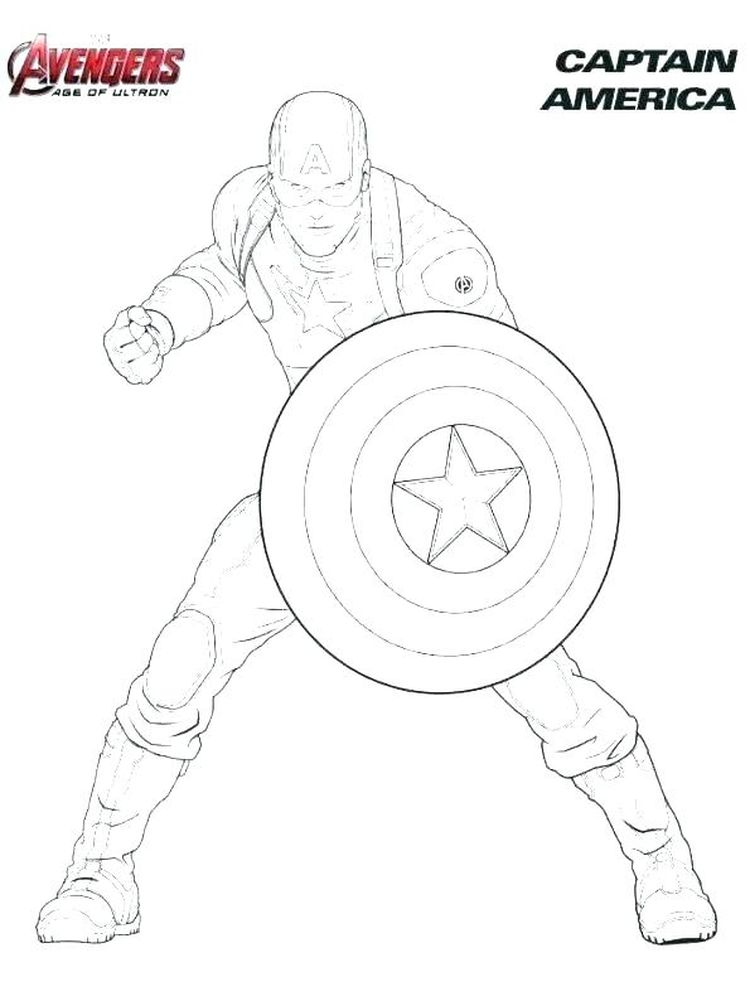 avengers coloring pages online print