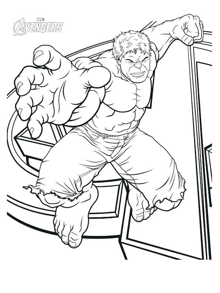 avengers coloring pages printable free