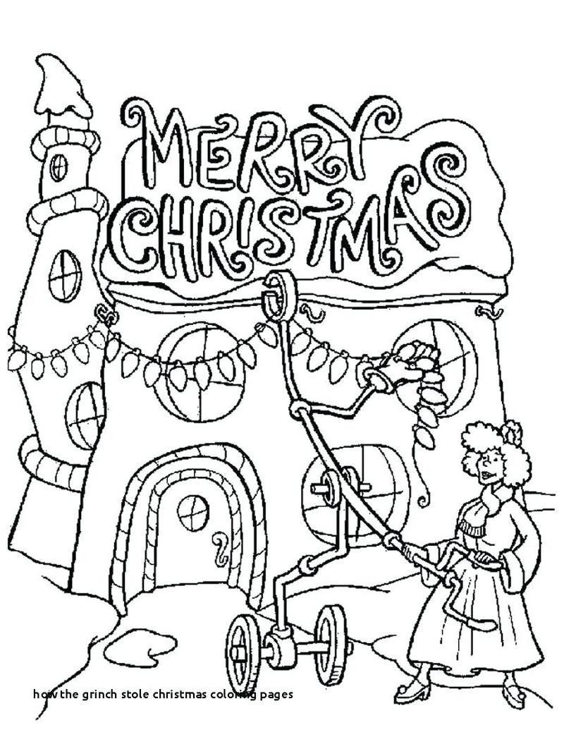 baby grinch coloring pages