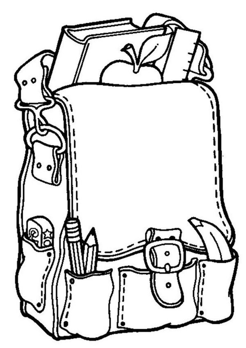back to school coloring page image free