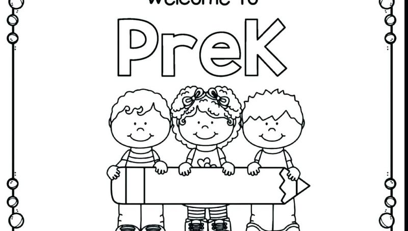 back to school coloring page picture