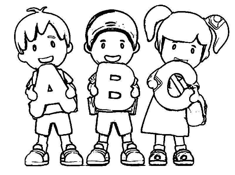 back to school coloring page to image
