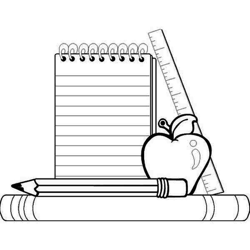 back to school coloring page to print