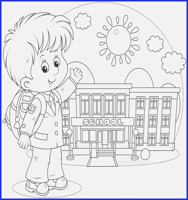 back to school coloring pages 2nd grade