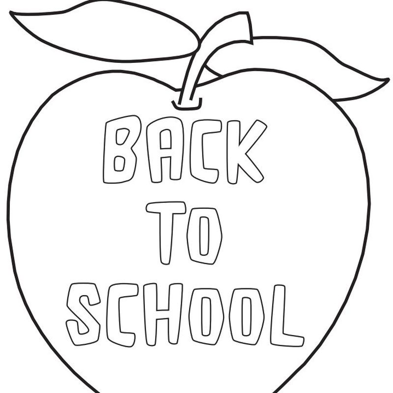 back to school coloring pages pdf